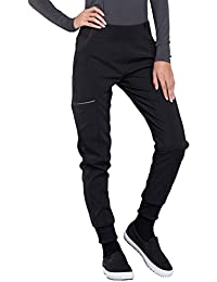 Infinity CK110A Women's Mid Rise Tapered Jogger Scrub Pant