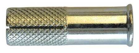 Drop-In Anchor, Flange, 1/2-13x2in, PK25
