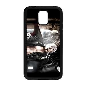 Devil May Cry 2 funda Samsung Galaxy S5 caja funda del teléfono celular del teléfono celular negro cubierta de la caja funda EEECBCAAB10084