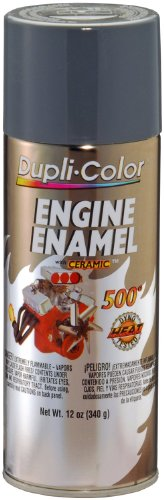 Dupli-Color EDE161107 Ceramic New Ford Gray Engine Paint - 12 oz. by Dupli-Color