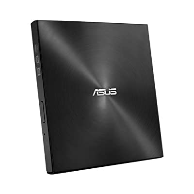 ASUS ZenDrive Ultra Slim Mac Compatible External DVD Optical Drive with M-Disc support (SDRW-08U7M-U/BLK/G/AS) by ASUS Computer International Direct