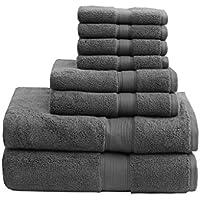 Madison Park Signature 800GSM 8-Piece Bath Towel Set