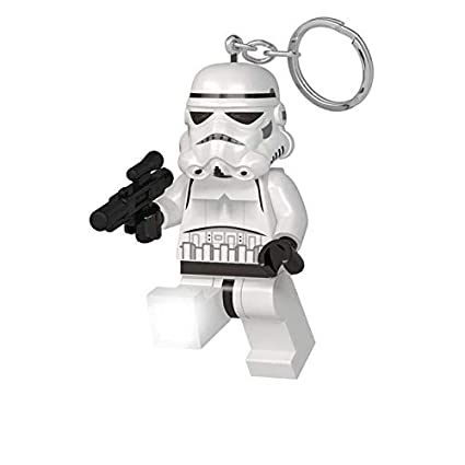 LEGO Bau- & Konstruktionsspielzeug Officially Licensed LEGO First Order Stormtrooper Executioner Keyring Light LEGO Minifiguren