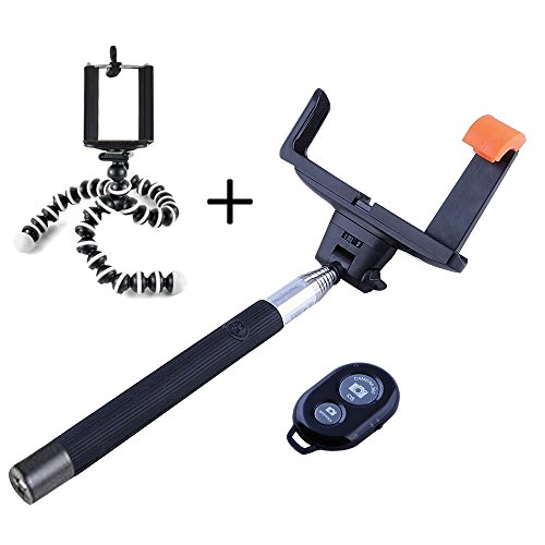 TBMax Extendable Monopod Octopus Wireless