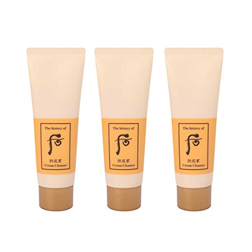 The History of Whoo Gongjinhyang Cream Cleanser 40ml x 3pcs