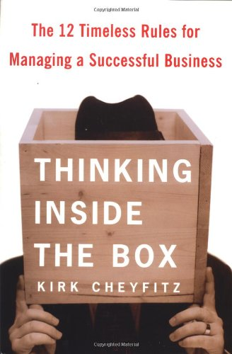Download Thinking Inside the Box: The 12 Timeless Rules for Managing a Successful Business pdf