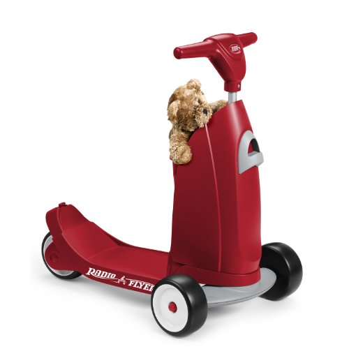 042385110387 - Radio Flyer Ride 2 Glide Ride On carousel main 4
