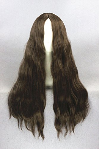 Womens Angelina Brown Wig (Prettybuy 25