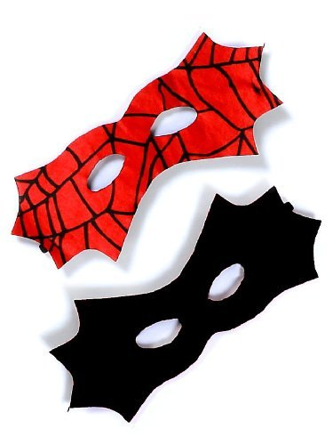 Creative Education's Reversible Spider Bat Mask (Spiderman Reversible Costume)