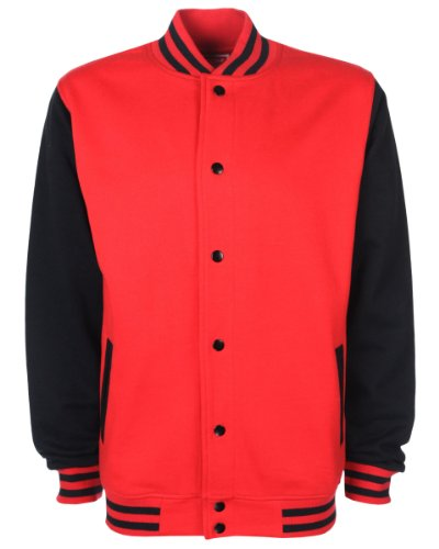 FDM - Veste - Homme Rouge - Fire Red/Black