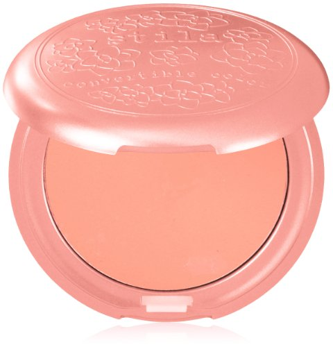 stila Convertible Color, Dual Lip and Cheek Cream, Petunia (Coral Peach Cream), 0.15 Ounce