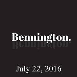 Bennington, July 22, 2016