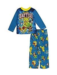 AME Boys Ready Battle Pokemon Pajamas Size 4