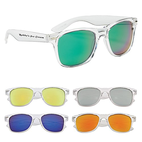 Kinetic Crystalline Sunglasses - 100 Quantity - PROMOTIONAL PRODUCT / BULK / BRANDED with YOUR LOGO / CUSTOMIZED - #6207 - Sunglasses Custom Bulk