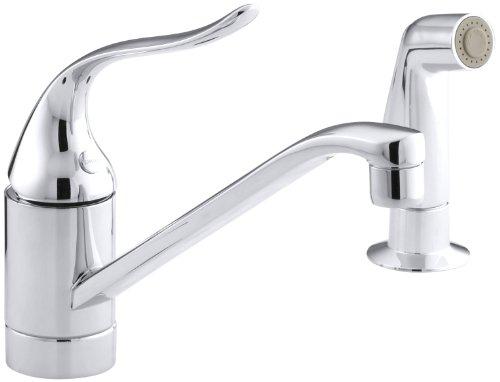 KOHLER 15176-P-CP Coralais(R) Two-Hole Sink 8-1/2
