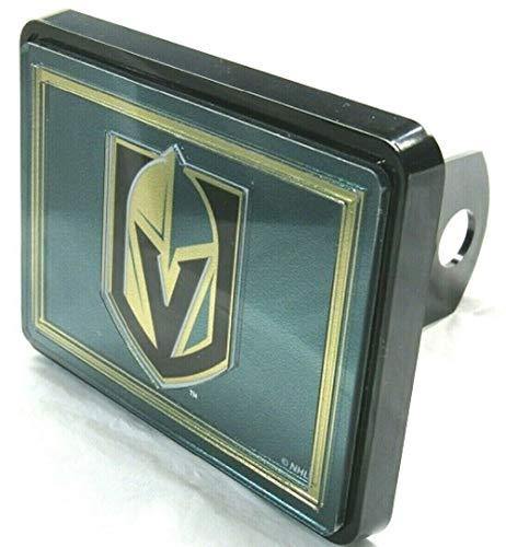 WinCraft NHL Las Vegas Golden Knights Laser Cut Trailer Hitch Cap Cover ()