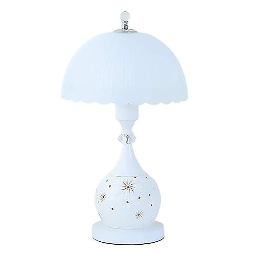 WXIFEID-Lámpara de mesa, Lampara De Mesilla De Noche, Cálido Y ...