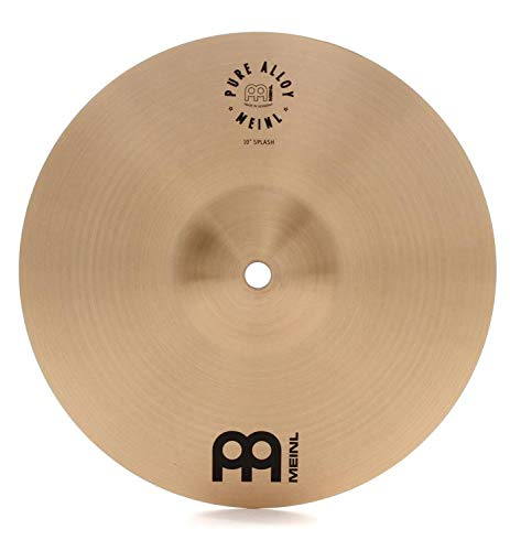 Meinl 10'' Splash Cymbal - Pure Alloy Traditional - Made in Germany, 2-YEAR WARRANTY (PA10S) by Meinl Cymbals