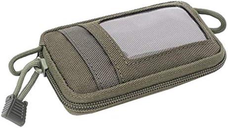 ミニ ウォレットカードポーチ コンパートメント カードケース コイン財布 キー収納 保管便利 使いやすさ 全3色