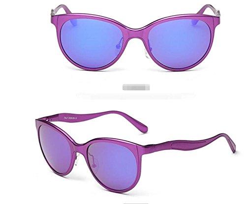 Sol Sol De De Las Polarizadas De Purple Blue Gafas Gafas YqFBww