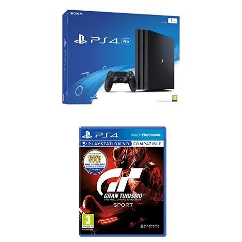 Sony PlayStation 4 (1TB) Pro + Gran Turismo Sport