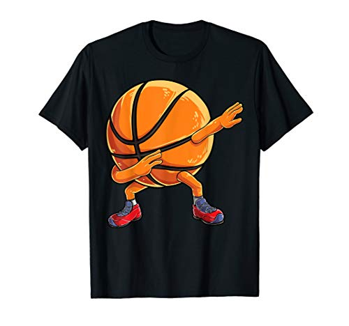 (Dabbing Basketball Ball T shirt Kids Boys Dab Dance Gifts )