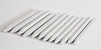 12 x marcas tizas para tacos de billar blanco marcar tiza del ...