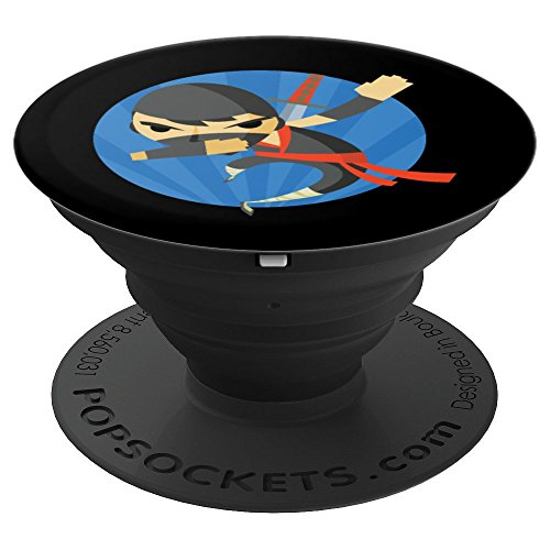 Spy Fighters - Dabbing Ninja Dance Funny Fighter Ninjutsu Spy Gift Grip - PopSockets Grip and Stand for Phones and Tablets