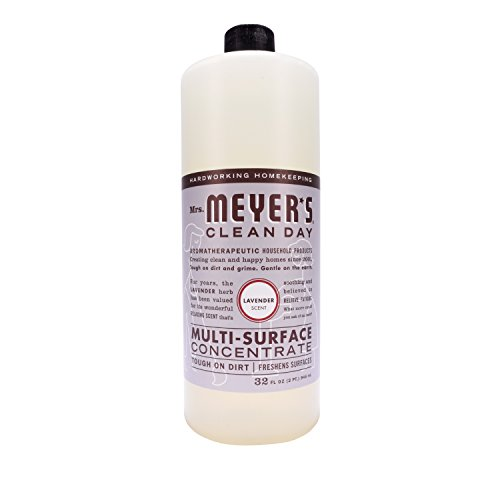 Mrs. Meyer's Clean Day All Purpose Cleaner, Lavender, 32 Fluid Ounce (Pack