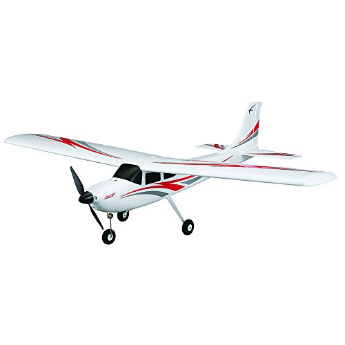 Flyzone Sensei Ready-To-Fly Electric Trainer RC Airplane with Self-Correcting WISE Gyro Flight (Ready To Fly Rc)
