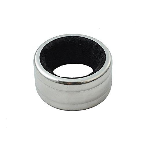 Drip Collar - (Pack of 10) Aspire Stainless Steel Wine Drip Rings, Wine Bottle Collar