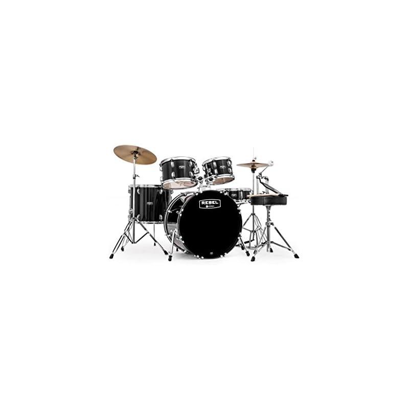 mapex-rb5294ftcdk-rebel-5-piece-drum
