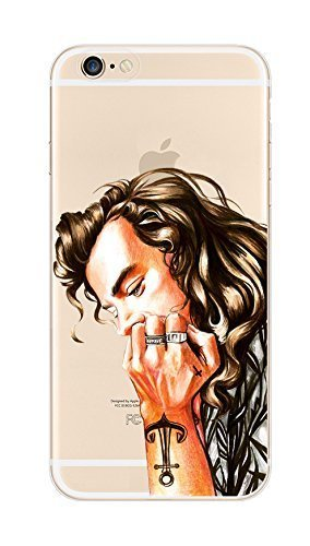 iPhone 6 / 6S Case, Deco Fairy Ultra Slim Rubber Silicone TPU Back Cover for Apple - Perfect Coolest Guy