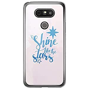 Loud Universe LG G5 Shine Like The Stars Printed Transparent Edge Case - Pink