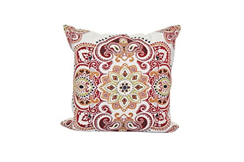 Urban Loft by Westex Medallion Feather Filled Decorative Throw Pillow Cushion 20