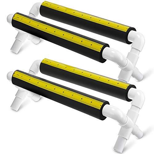 2 조각 텀블러 컵 홀더 병에 비닐 데칼을 적용하기위한 측정 스탠드가있는 폼 컵 크래들 홀더 텀블러 유리 컵