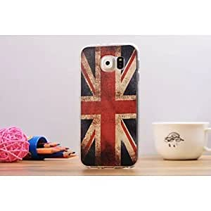 ZX UK Flag Graphic Soft Slim TPU Back Cover for Samsung Galaxy S6