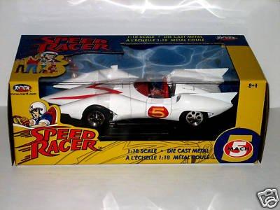 Speed Racer Mach 5 From Speed Racer 1/18