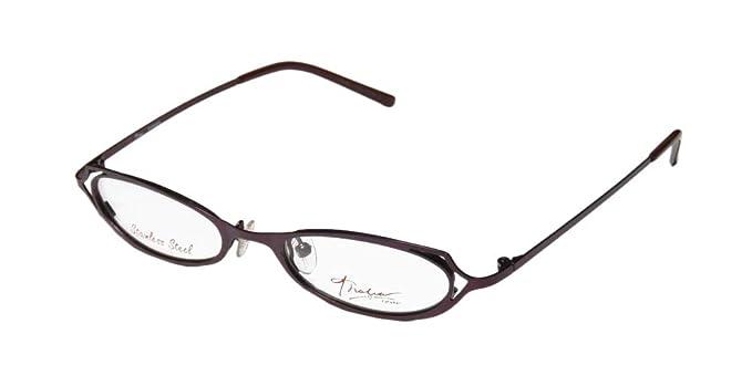 f7a29bdb3f7 Thalia Samba Womens Ladies Prescription Ready Popular Shape Designer  Full-rim Eyeglasses Glasses