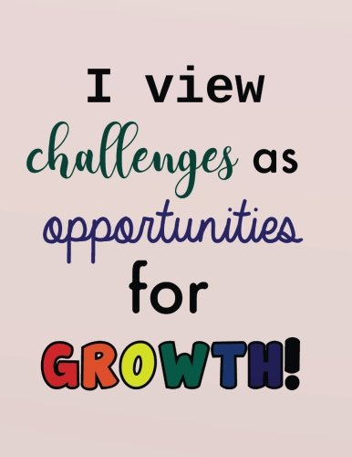 Download I view challenges as opportunities for growth: Positive Self-Affirmations for Kids Children Book   Journal Cards Notebook 8.5 x 11 Inches (Positive ... For Kids And Children   Series) (Volume 4) PDF
