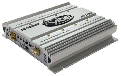Lanzar VIBE700.1D Vibe 700 Watt Mono Block Mosfet Digital Amplifier