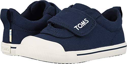 (TOMS Kids Unisex Doheny - Zappos Exclusive (Toddler/Little Kid) Navy Canvas 8 M US)