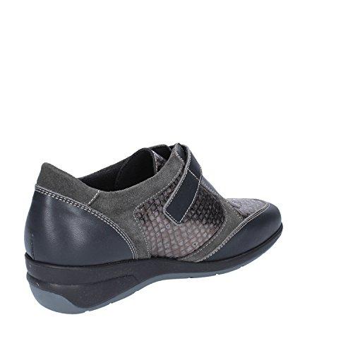 SUSIMODA Sneakers Donna 37 EU Grigio Pelle Camoscio