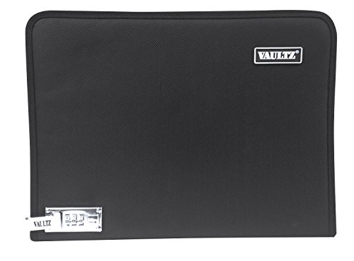 (Vaultz Letter Size Locking 7-Pocket Expanding File, Black (INTVZ03167))