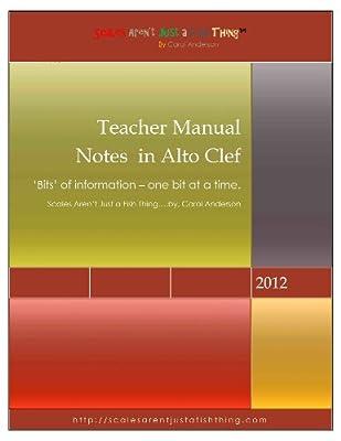 Alto Clef Notes Teacher Manual