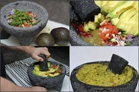 """TLP Molcajete authentic Handmade Mexican Mortar and Pestle 8.5"""" 4 It is a handmade product, made from lava rock. The product by nature will be porous. We have listed a preparation guide on the listed item. Those steps wil"""