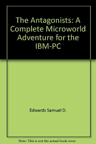 The Antagonists/a Microworld Adventure for Your IBM for sale  Delivered anywhere in Canada