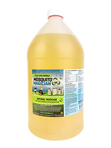 Repellent Concentrate - Mosquito Magician Natural Mosquito Killer & Repellent Concentrate 1 Gallon