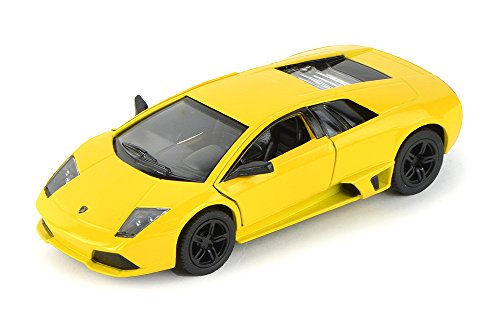 Lamborghini Murcielago LP640, Yellow - Kinsmart 5317D - 1/36 scale Diecast Model Toy Car