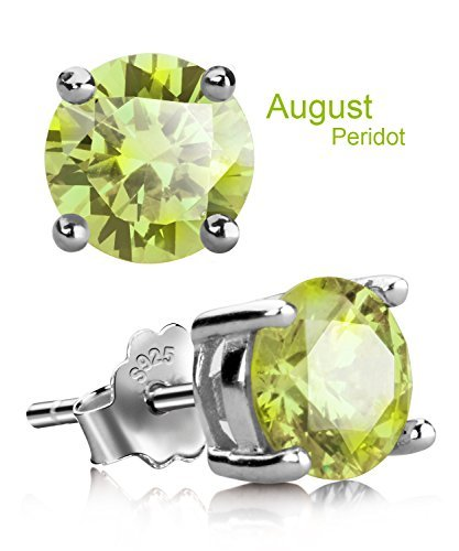 August birth stone earrings